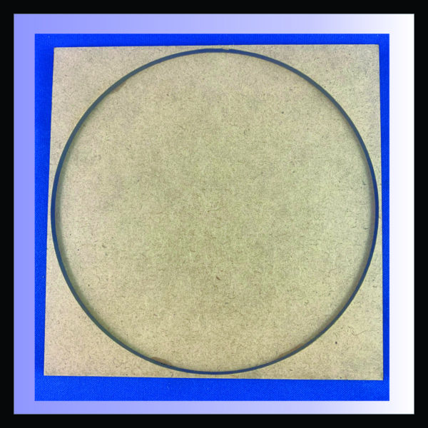 Square movement tray for a single 130mm round base