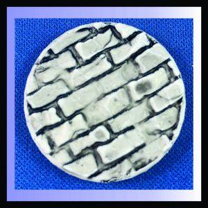 25mm round brick base