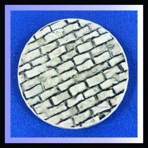 40mm round brick base