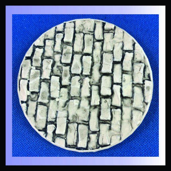 50mm round brick base