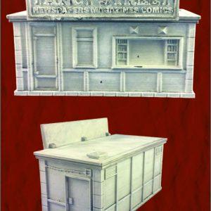 Yancy Street Paper Kiosk
