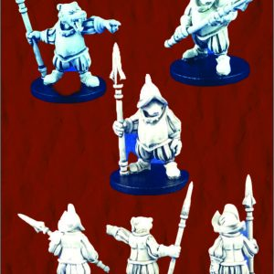 Badger Mercenaries with Spears
