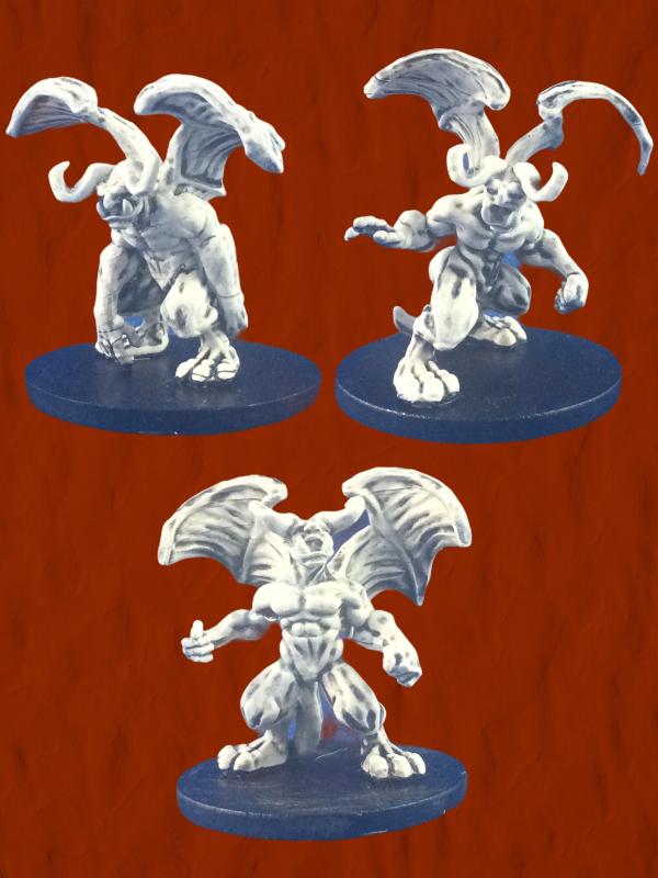 Gargoyle 3-pack