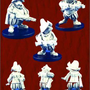 Badger Mercenaries with Crossbows